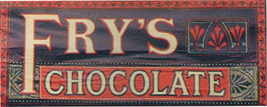 Image result for fry's chocolate first chocolate bar