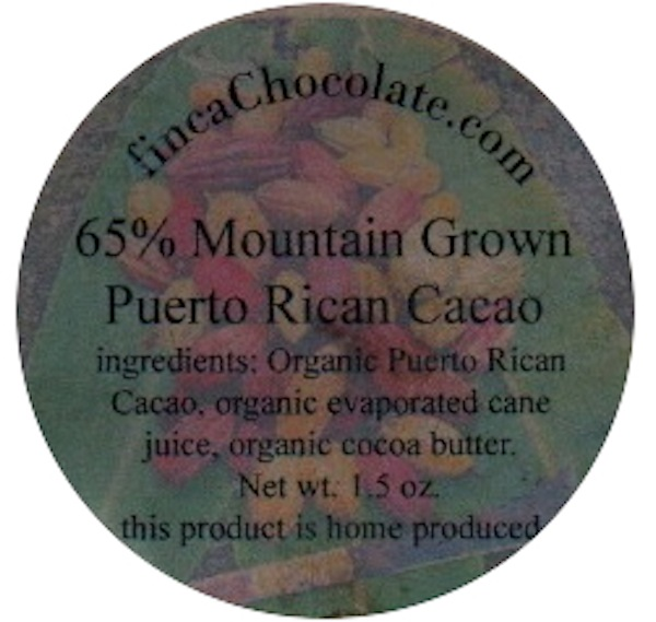Mountain Grown Puerto Rican Cacao