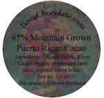 Mountain Grown Puerto Rican Cacao