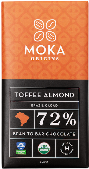 BRAZIL<br>Sea Salt<br>Toffee Almond<br>Lemon Ginger