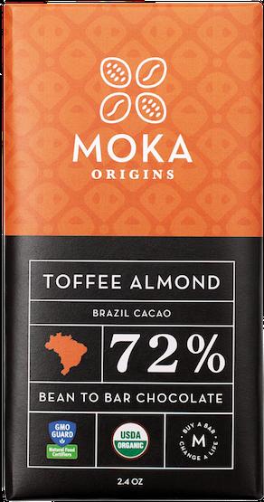 BRAZIL<br>Sea Salt<br>Toffee Almond<br>Lemon Ginger