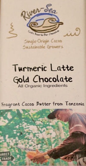 Tanzania Dark<br>Coconut Milk Chocolate<br>Turmeric Latte