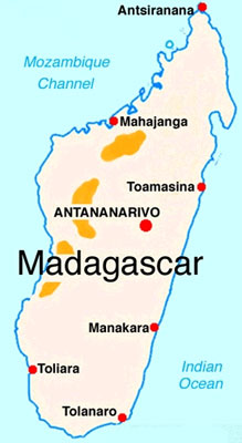 Madagascar The Cspot - Where is madagascar
